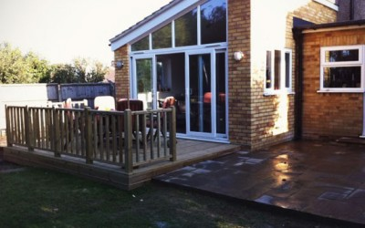 Patio – Welham Green