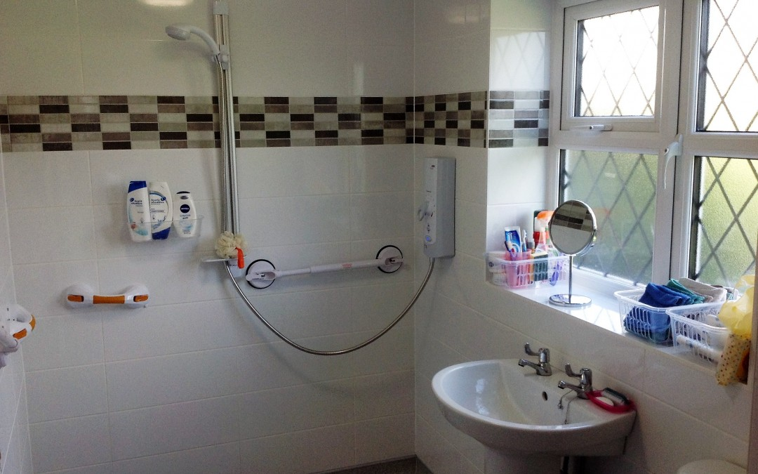 Disabled Access Shower – Essex