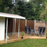 Garden Decking and Bar Braintree, Essex CM7