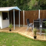 Garden Decking and Bar Braintree Essex Cm7 7