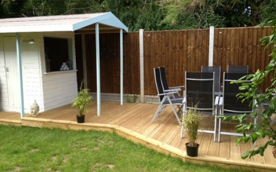 Garden Decking, Garden Patios, Summer House & Block Paving – Essex