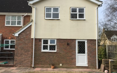 Garage Conversion – White Courts, Braintree